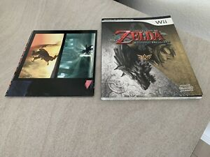 The Legend of Zelda Twilight Princess, Nintendo Spieleberater mit Poster wie Neu
