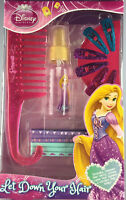Disney Princess Girls Hair Accessories Gift Pack Set Hair Comb Bobbles Slides