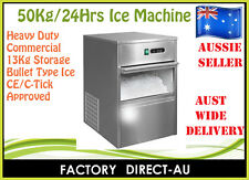 HEAVY DUTY COMMERCIAL ICE MAKER / MACHINE 50 TO 65KG/24 HOURS RRP:$1350
