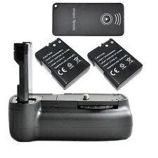 Vertical Battery Grip Pack For Nikon D3100 D5100 Camera + 2x EN-EL14 + IR Remote