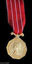 Canada Canadian Decoration CD Medal Miniature Mini Size Queen Elizabeth II