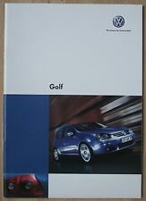 Rare catalogue Volkswagen Golf - France - mars 2006 - 48p