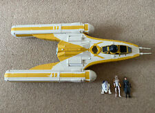 Star Wars The Clone Wars Y-Wing Fighter Bomber 2009 LFL Hasbro- VERY RARE IN UK