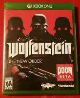 BRAND NEW & SEALED! Wolfenstein: The New Order XBOX ONE