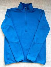 Patagonia Men's Polartec Blue Quarter Zip - L