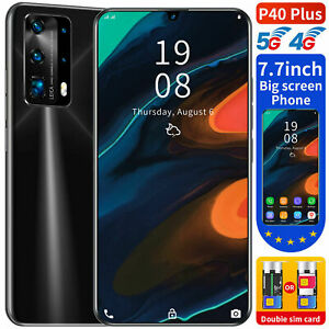 7.7 Inch Large Screen Smartphone Android 10 Core 2SIM Unlocked Mobile Phone 5G