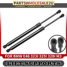 2x Tailgate Trunk Lift Supports Struts for BMW E46 323i 325i 328i 330i M3 99-06