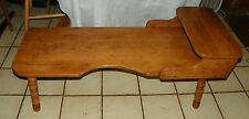 Solid Oak Carved Coffee Table  (CT90)