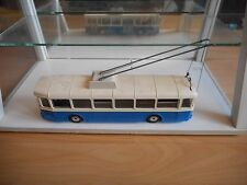 Norev Autobus Trolleybus Saviem SC 10 U in Blue/White on 1:43