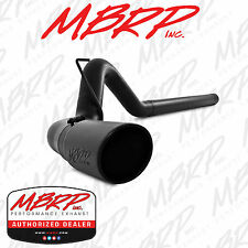 "MBRP S6130BLK 4"" FILTER BACK DIESEL EXHAUST 2010-2012 DODGE RAM 2500 3500 6.7L"