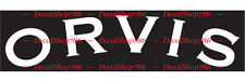 ORVIS Fly Fishing Tackle & Gear - Car/SUV Vinyl Die-Cut Peel N' Stick Decals