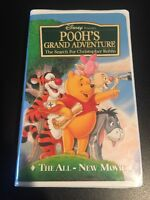 Disney Presents Poohs Grand Adventure The Search For Christopher Robin Vhs
