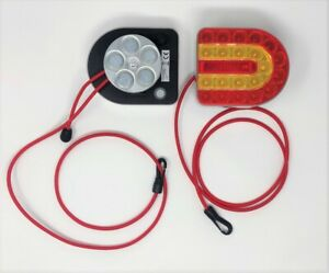 SPAREX CONNIX LIGHT SET SAFETY CORDS 1 METRE  ADJUSTABLE EASY FIT (S130977) PAIR