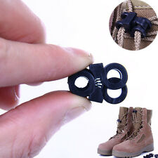 2Pc Elastic Shoe Lace Shoelace Buckle Stopper Rope Clip Clamp Paracord Cord Lock