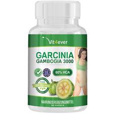 Garcinia Cambogia 3000mg 180 Kapseln 60% HCA Abnehmen Fatburner Vegetarier