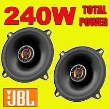 JBL 240W TOTAL 2-WAY 5.25 INCH 13cm CAR/VAN DOOR/SHELF COAXIAL SPEAKERS NEW PAIR