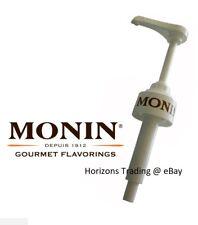 Genuine Monin Coffee Syrup Pump for 70cl / 700ml Glass Bottles Pump Dose 10ml