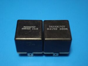 (Lot of 2) Chrysler Dodge Jeep Plymouth Multi-Purpose Relay 56006707