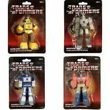 Transformers G1 Keychain / Bag Clip Complete set of 4 Optimus Soundwave (40)