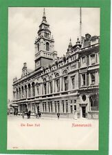 Town Hall Hammersmith London pc unused Stengel Ref F644
