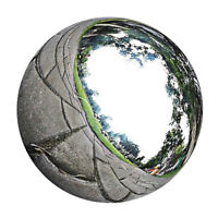 Stainless Sphere Garden Ornament Mirror Gazing Globe Floating Ball 20cm