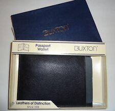 Buxton Professional Genuine Leather Passport Case/ Wallet