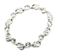 Armband - 835er Silber - Bergkristall - Vintage