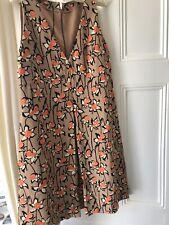 MIU MIU Daffodil Print Dress 44/12 NWOT