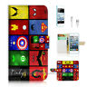 ( For iPod 5 / itouch 5 ) Flip Case Cover! Superhero Collection P0139
