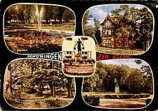1962 Stempel SCHÖNINGEN auf color Mehrbild-AK Postkarte Ansichtskarte gelaufen