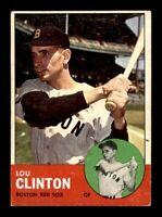 1963 Topps #96 Lou Clinton VG/VGEX X1283212