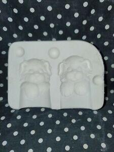 1988 Clay Magic Molds J-532 Small Puppy Dog Ceramic Slip Casting Mold