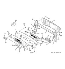 Brand new genuine GE OVERLAY SUPPORT ASM WB27T10703