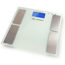 Digital Personal Bathroom Body Fat Weight Scale Fitness LCD Display 400lbs/181kg