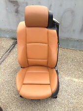 Fahrersitz sattelbraun BMW E93 Cabrio Sportsitz Ledersitz Sitz Lederausstattung