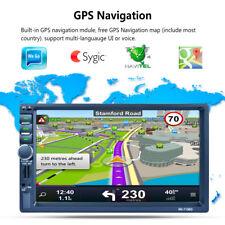 """7"""" TOUCH SCREEN AUTORADIO 2 DIN GPS NAVIGAZIONE AUTO LETTORE MP5 STEREO BT RADIO"""