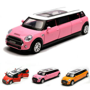 BMW Mini Extended Limousine 1:36 Scale Model Car Diecast Gift Toy Vehicle