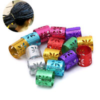 Adjustable Hair Beads Ring Cuff Clips Hair Strings Braids Wire Wraps Accessory K