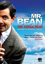 Mr. Bean The Whole Bean Complete Series 25th Anniversary Ultimate Collection NEW
