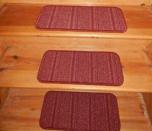 "14 = Step 9"" x 19"" Stair Treads  Nylon Soft Backing Carpet"
