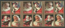 #5332-5334b, Usa Forever Holiday Booklet of Stamps, Self-Adhesive, Mnh