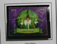Stamps PERU Orchids Orquideas MNH Flora Flowers