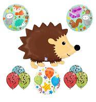 Woodland Creatures Birthday Party Supplies Baby Shower Hedgehog Balloon