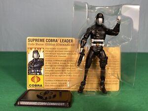 G.I. Joe 25th Cobra Legions 5-Pack Cobra Commander