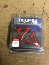 Triumph Daytona 675 Billet Red Preload Adjuster Kit NEW 2006-12