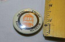 Orange Empire Railway Museum Lapel Button Rare