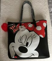 BNWT DisneyParks Loungefly Minnie Mouse Tote Bag
