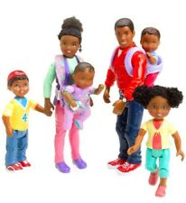 New FISHER PRICE LOVING FAMILY African  American Family  Figures