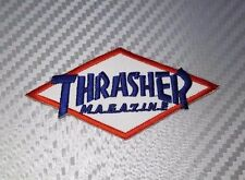 IRON PATCH LOGO embroidered sew BADGE EMBLEM THRASHER MAGAZINE SPORT SUPREME CAP