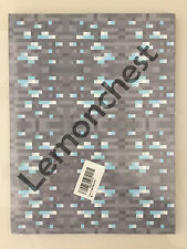 "Minecraft Diamond Ore Wrapping Paper3 Sheets 24""x36"" Pixels Gift Wrap Craft New"